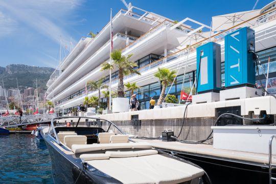 Chargeur de bateaux électrique Vita Chargers à Monaco