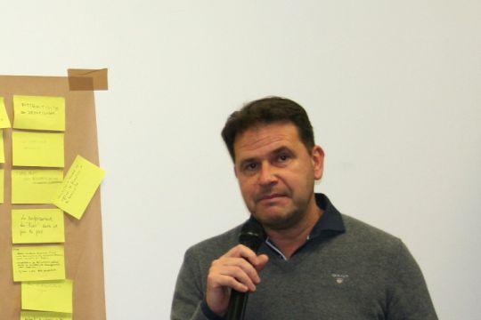 Michaël Quernez, président de Finistère 360