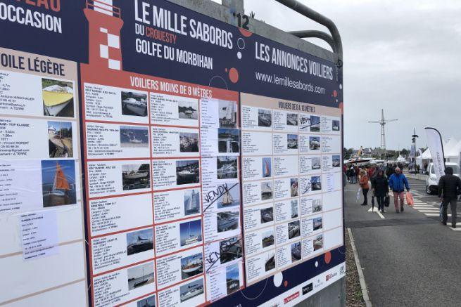 Liste des bateaux à vendre au Mille Sabords 2019