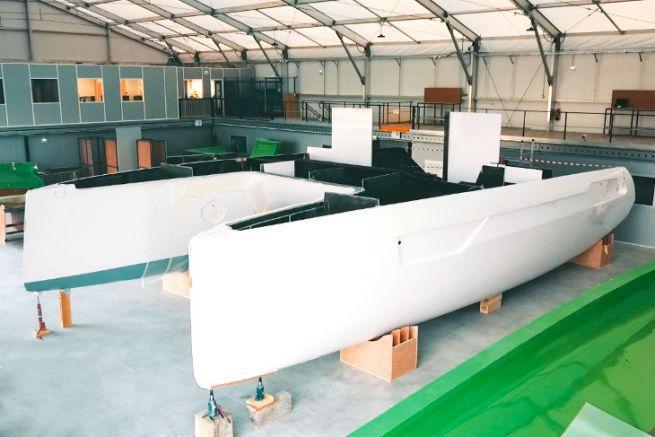 1er catamarán Windelo Adventure 50 en construcción