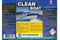 Nueva etiqueta de Clean Boat