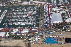 Vista aérea del Grand Pavois