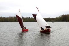 Gazelle des Sables y Gazelle des Iles, navegando en un estado enlatado