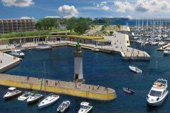 Futuro Puerto Haliguen wet dock