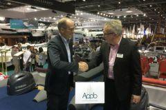 Brieuc MORIN, Secretario General de la APPB, y Jonathan FIELDING, Presidente de la WBMSW