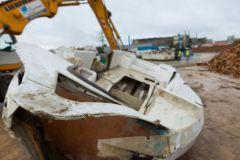 Barco de placer retirado del servicio - BPHU