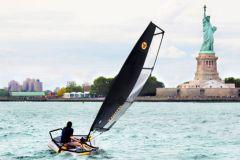 El bote inflable Tiwal 3.2 en los Estados Unidos