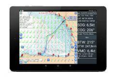 La aplicación de enrutamiento móvil SailGrib
