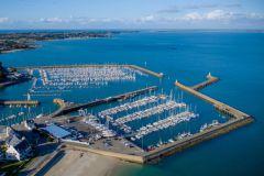 Puerto Haliguen, el puerto de yates de Bretaña