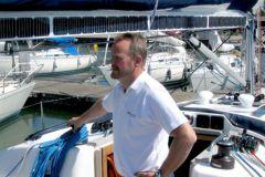 Christian Hallberg, Director Comercial del fabricante de motores eléctricos Oceanvolt