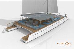 El catamarán New Day One, construido por TechniYachts Pinta