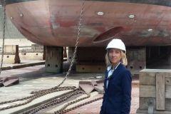 Florence Vareilles, fundadora de los Proyectos Navales de Le Havre