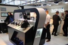 El stand de Garmin en el METS 2016