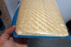 Desmoldeo de un azafrán de fibra de bambú