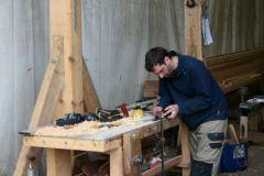 Trabajo de la madera en Gréement Bois Morbihan