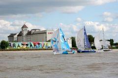 Inicio de la Solitaire du Figaro 2015