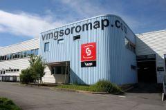 El centro de producción de VMG Soromap