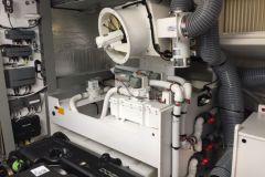 Sala de máquinas de una embarcación de recreo a motor
