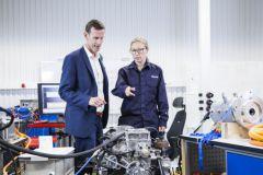 El laboratorio de electromovilidad de Volvo Penta