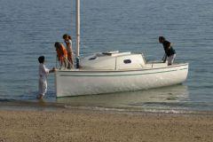 Ikone 6.0, un catamarán que construyó la imagen del astillero Espace Vag