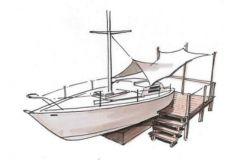 El proyecto de Batho para la conversión de un barco fuera de servicio
