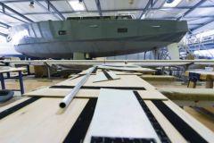 Habilitación de un velero de viaje en el astillero de Olbia en Gujan-Mestras