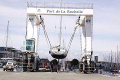 Elevador de barcos de la meseta náutica de La Rochelle