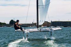 BeFoil 16, un catamarán volador para escuelas de vela