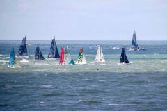 Comienza la carrera oceánica en la Transat Jacques Vabre