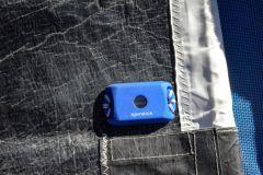 Sensor Sailsense Spinlock para registrar el historial de funcionamiento de la vela de un barco