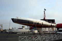 Kriter VIII en reequipamiento en la meseta náutica de La Rochelle