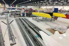 Planta de producción de catamaranes de aluminio iFLY