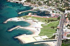 Marina olímpica Roucas Blanc en Marsella para las Olimpiadas de 2024