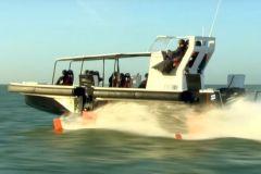 El concepto de barco de aluminio desarrollado por el Grupo Bénéteau, Seair, DEMS y Noval.