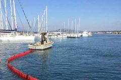Clean Ports entrena para el uso de medios de control de la contaminación