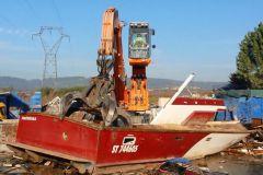 La deconstrucción de las embarcaciones de recreo