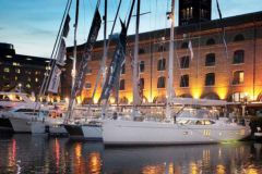 El salón náutico a flote en Londres