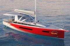 Nuevo Sun Loft 47 de Jeanneau para el alquiler de un barco con camarote