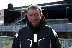 Sylvain Morel, capitán del puerto de Lorient La Base