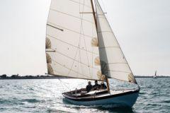 Windclass Eole construido por el astillero de Carènes en la isla de Ré