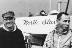 Peter Barrett y Lowell North en el papel protagonista mundial en 1967 en Dinamarca
