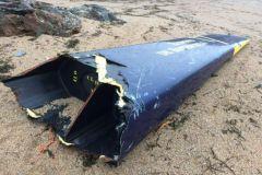 El arco de Gitana 17 arrancado, encontrado en una playa