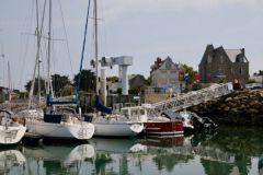 El puerto de Piriac-sur-Mer en el Loira Atlántico