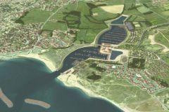 El proyecto de la marina de Brétignolles-sur-Mer en la zona natural sensible del Marais Girard