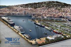 La creación de los puertos IGY en Sète en la cuenca de Orsetti