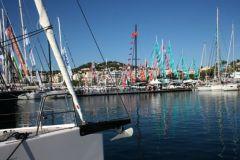 Los veleros se instalan en Puerto Canto para el Festival Náutico de Cannes