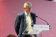 Jérôme de Metz, Director General del Grupo Bénéteau, en la conferencia de prensa del Festival Náutico de Cannes 2019