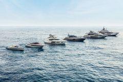 Resumen de los barcos construidos por el Grupo Ferretti