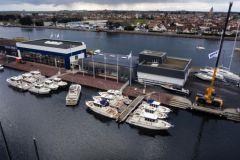 El astillero SNIP Yachting de Ouistreham