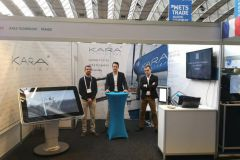 El equipo de Kara Technology en METS Trade